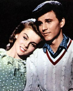Ann-Margret as Kim McAfee and Bobby Rydell as Hugo Peabody.
