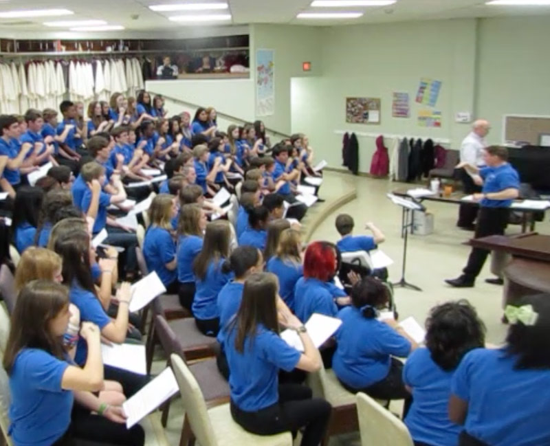 Teaching the Middle School Choir to Sight-Sing « Choral