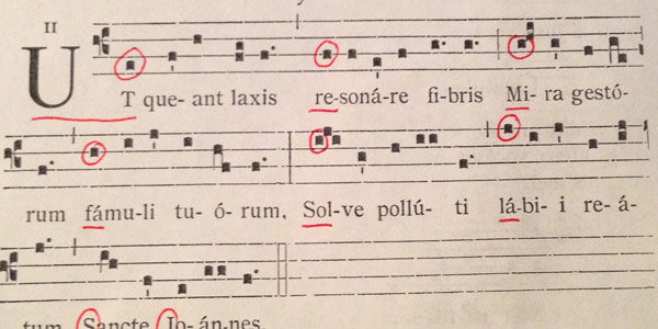 The Legacy of Guido d'Arezzo - Solfège, Part 2